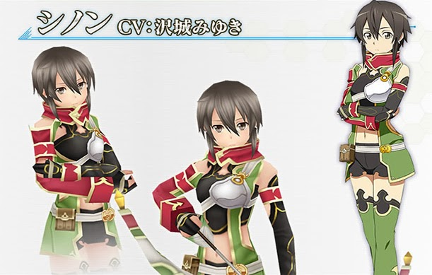 Sinon Hollow Fragment PS Vita Screen Shot