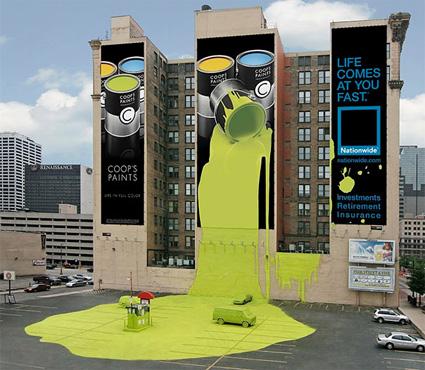 Coop's Paint (Iklan Asuransi Nationwide)