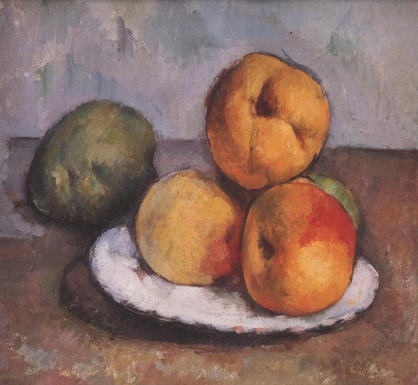 What Materials Did Paul Cezanne Use For His Paintings