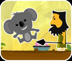 Chú gấu Koala, game phieu luu