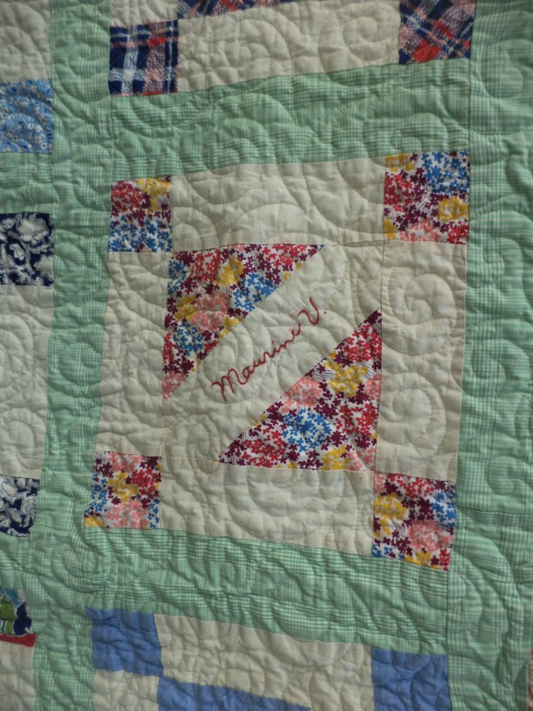 Kat Cat Quilts Antique Signature Quilt Completed Wip 1939 2015