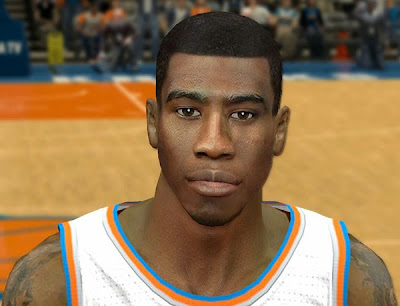 NBA 2K14 Iman Shumpert Cyberface Hair Update
