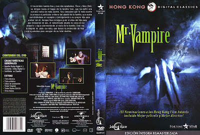 Mr. Vampire 1985 | Caratula, cine clásico