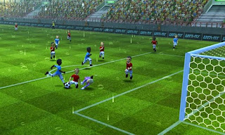 Screenshots of the Striker Soccer for Android tablet, phone.