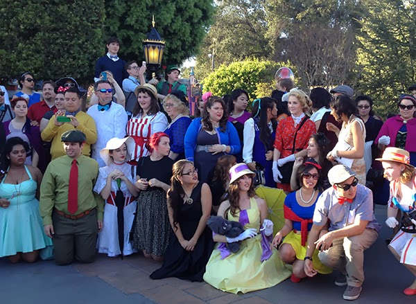 DisneyBound Meetup at Dapper Day 2014