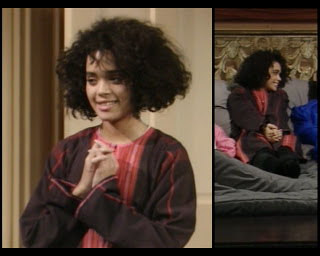 Cosby Show Huxtable fashion blog 80s sitcom Denise Lisa Bonet pajamas