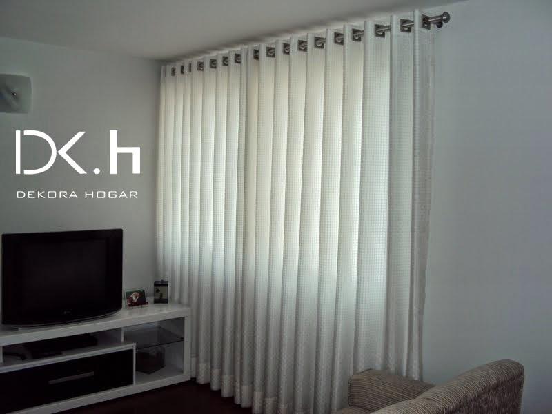Fotos de cortinas cortinas para recamara for Cortinas de argollas