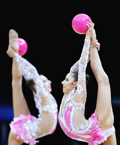 Rhythmic,Gymnastics,Russian