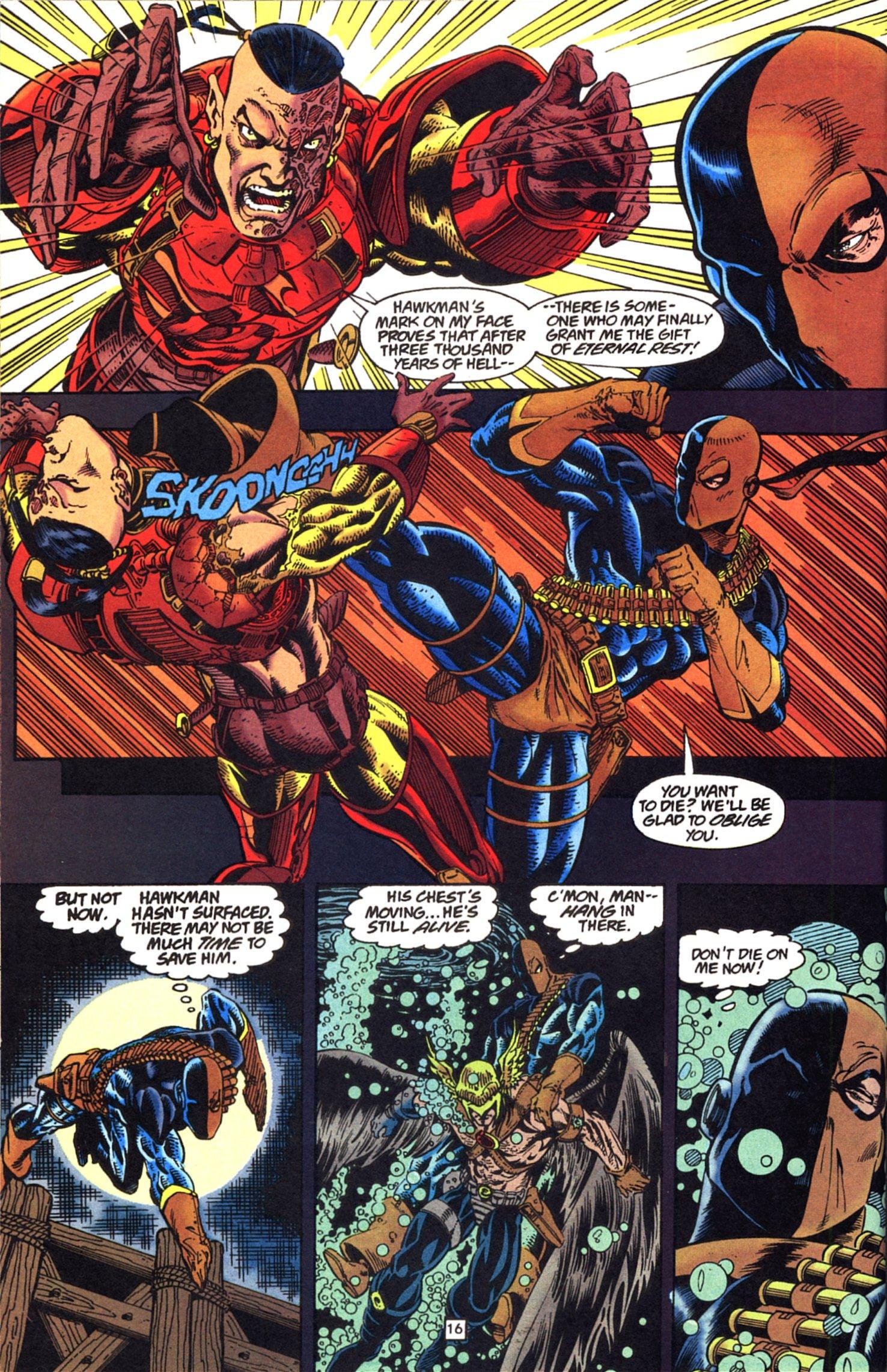 Deathstroke (1991) Issue #52 #57 - English 17