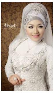 Contoh Foto Hijab Modern Untuk Akad Nikah Terbaru