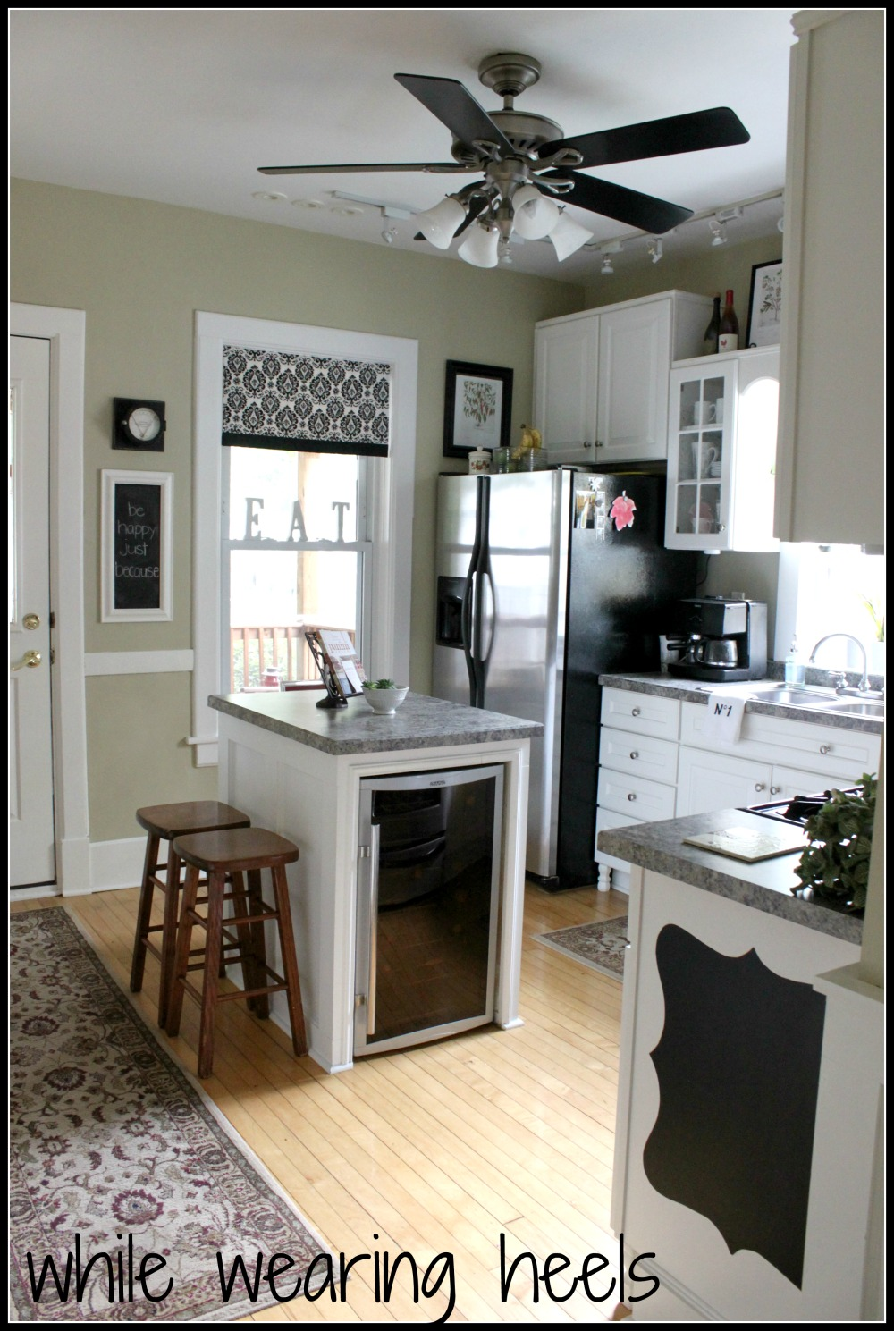 While wearing heels 100 year old kitchen for Kitchen ideas old house