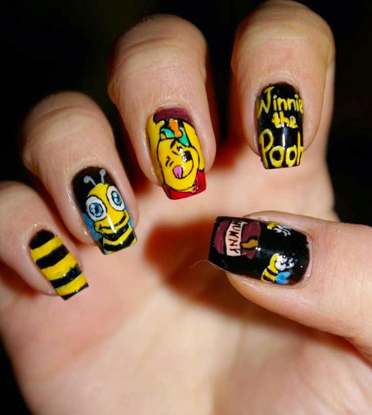 diseño con Winnie de Pooh.