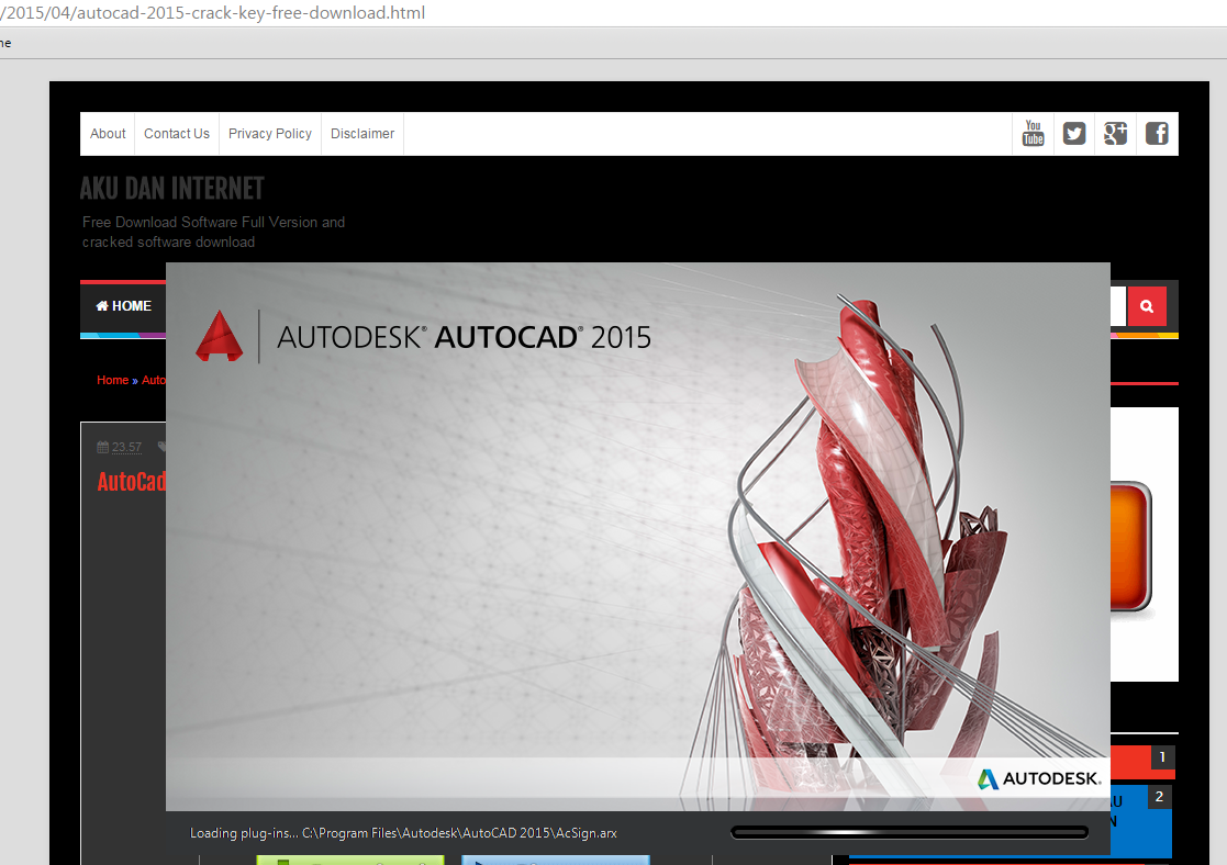 Autocad 2015 Crack Key Free Download Free Download