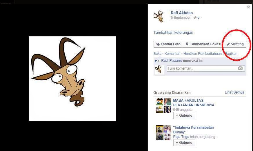 foto profil fb