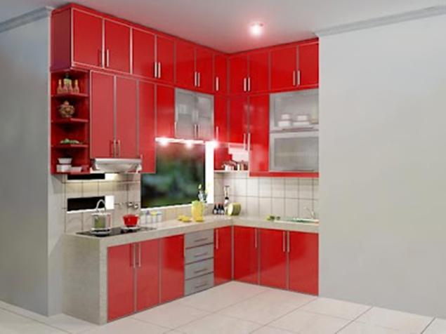 Ide desain kitchen set terbaru gambar desain rumah dan for Kitchen set yang bisa dipindah