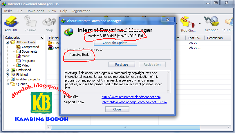 Internet Download Manager Registration
