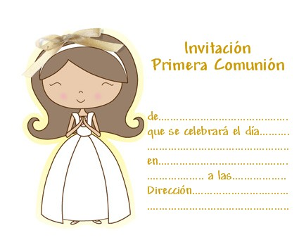 1St Holy Communion Invites with best invitations design