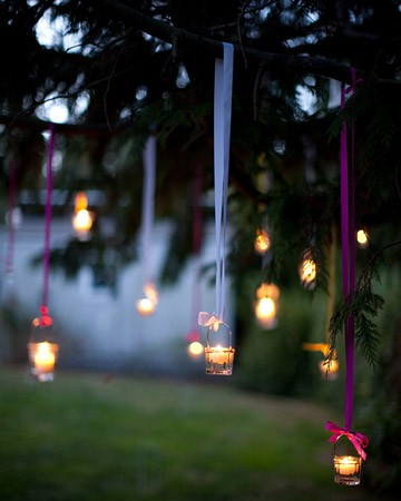 hanging lanterns