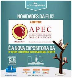 APEC ESTARÁ NA 4ª FLIC - 13 a 15 de agosto de 2015