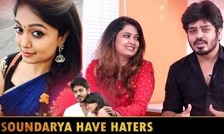 Actor Vignesh & Actress Singer Soundarya Interview