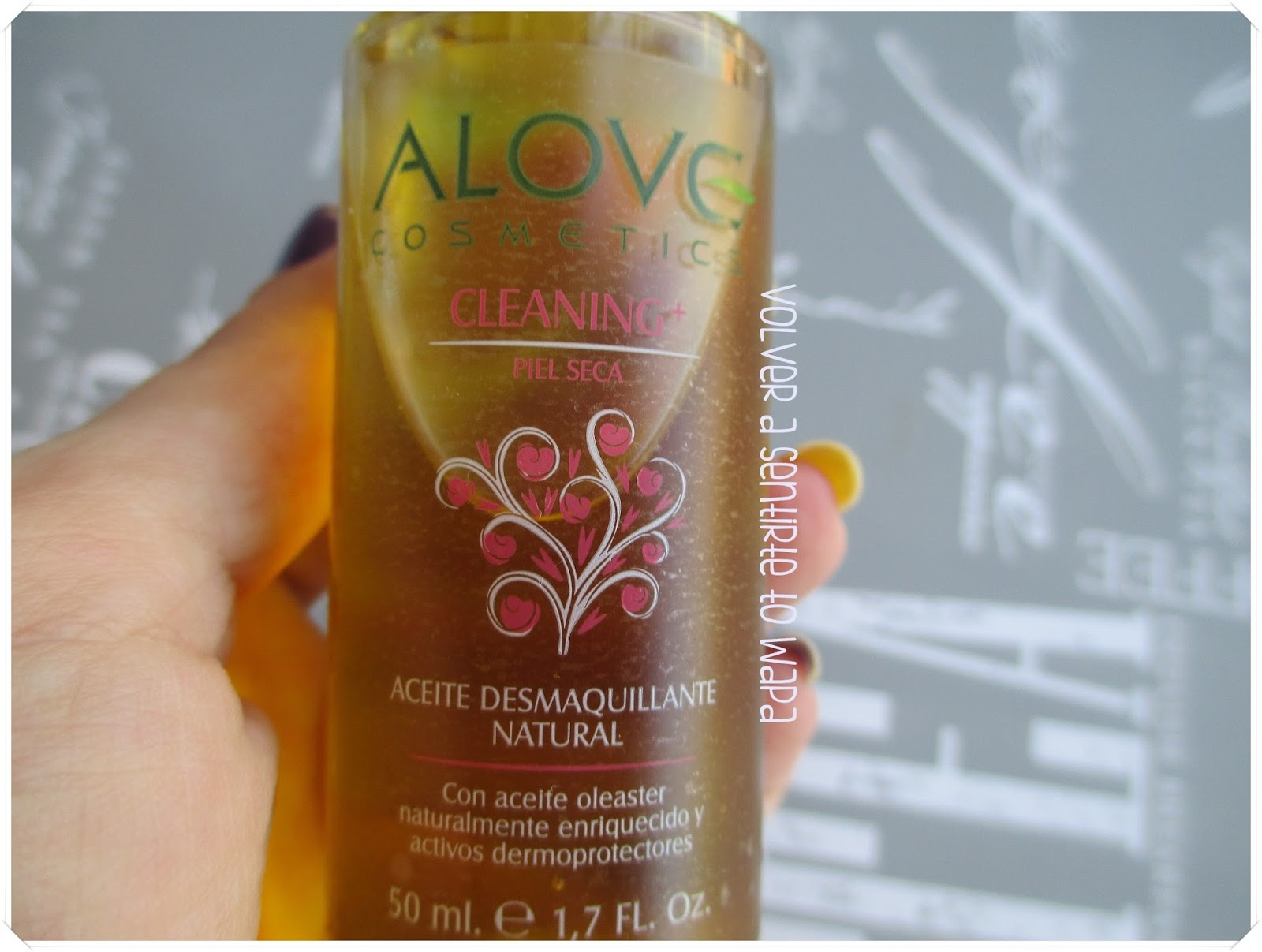 Alove Cosmetics - Gama Cleaning+ - Aceite Desmaquillante Natural