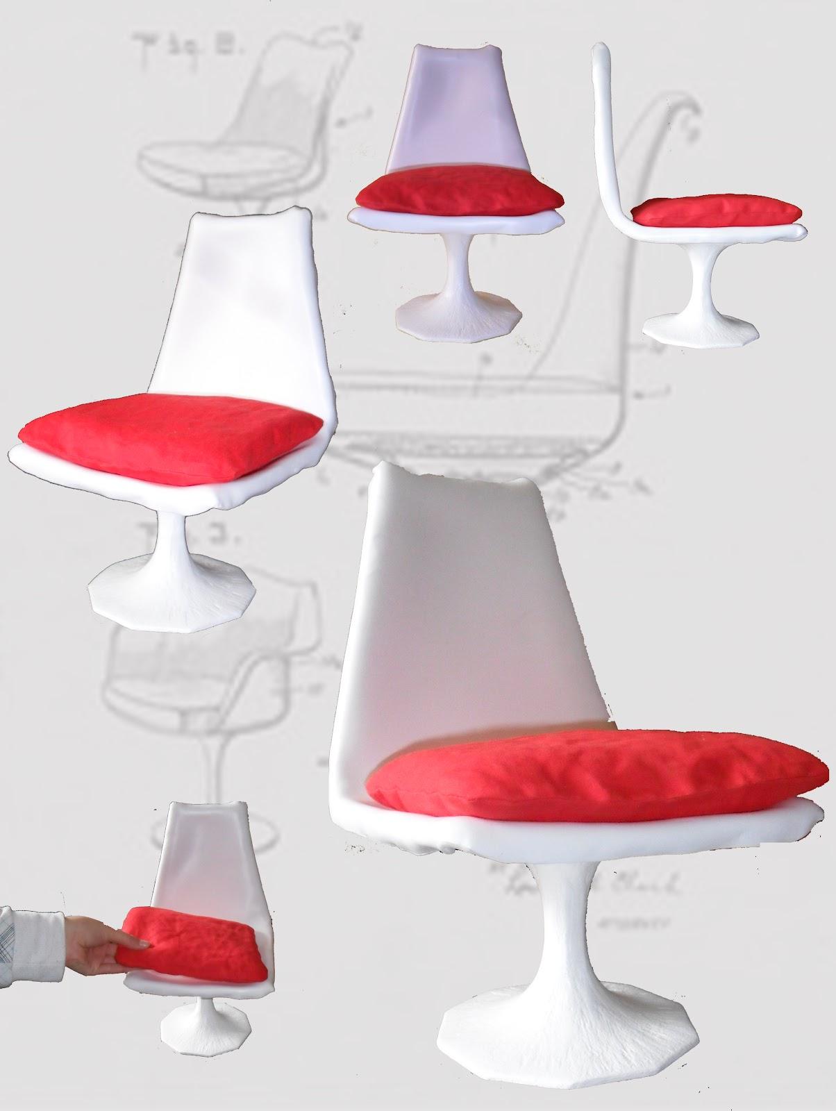Cecilia polidori twice design la tulip chair - Sedia tulip knoll prezzo ...