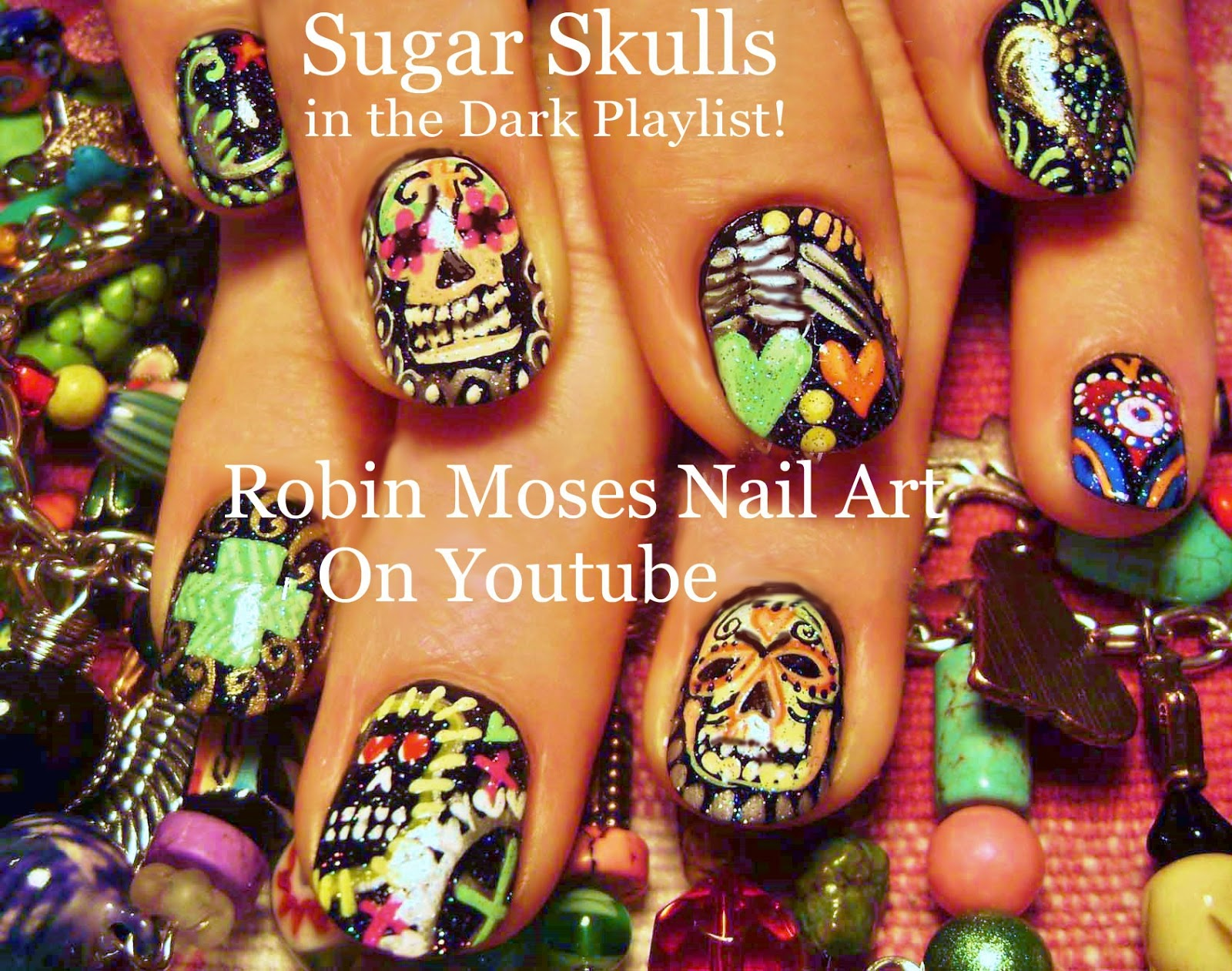 Robin Moses Nail Art Halloween