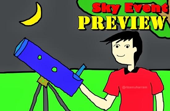Preview Fenomena Langit Menakjubkan di Tahun 2014