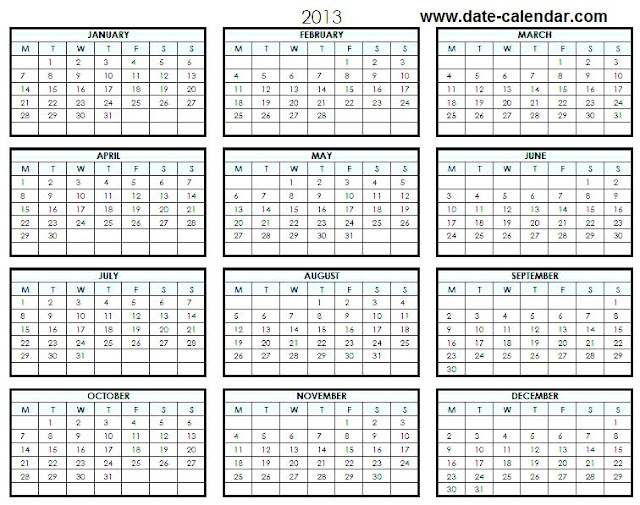 Printable 2015 One Page Calendar | Search Results | 2016 Calendar ...
