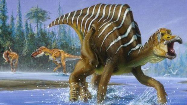 Ditemukan Jejak Dinosaurus Berparuh Bebek