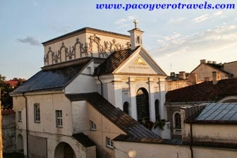 Dormir en un monasterio en Vilnius Lituania