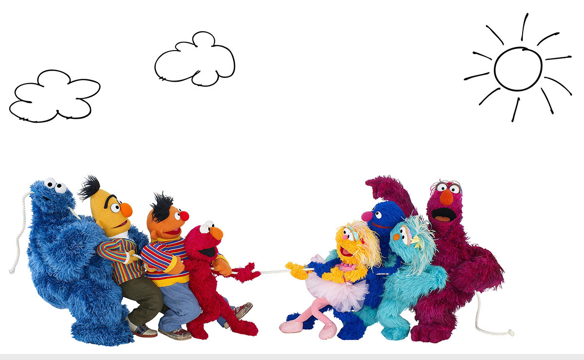diana leto designs sesame street company wall graphics here is a time lapse of the artwork going up recorded and edited by design director mark magner