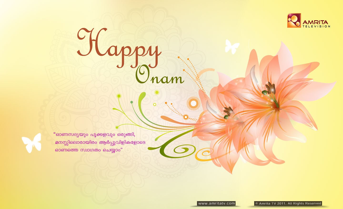 Happy Thiru Onam Images for Free Download
