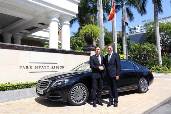 Park Hyatt Saigon ra mắt đội xe đưa đón đẳng cấp thế giới