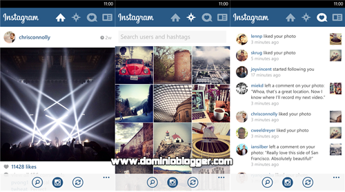 Captura y comparte tus mejores momentos con Instagram para Windows Phone