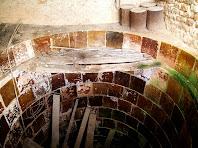 Interior d'una tina de La Massana