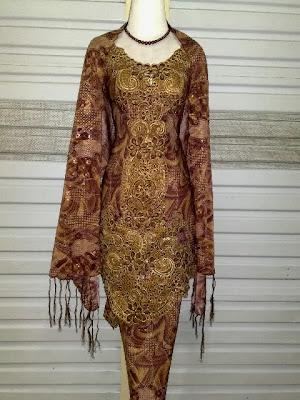 Kebaya 3 in 1 Batik Bordir MBS