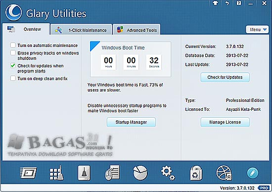 Glary Utilities Pro 3.7.0.132 Final Full Serial 2