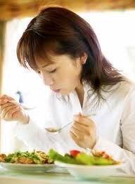Đoán bệnh qua việc ăn uống