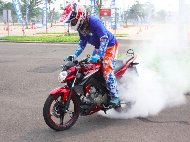 Berikut harga Yamaha New Vixion Advance 2015 di kota Medan . . .