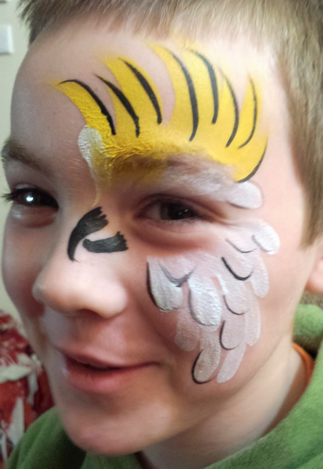 simple animal face painting gallery