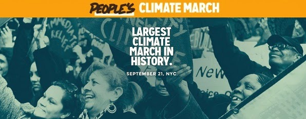 People's Climate March: September 21 2014 NYC.