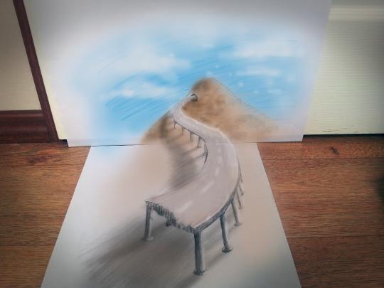 Рисунок 3d своими руками