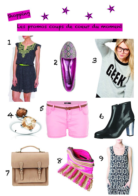 Blog mode shopping fashion promotion laredoute even&odd asos jennyfer american retro pieces lafayette collection mango