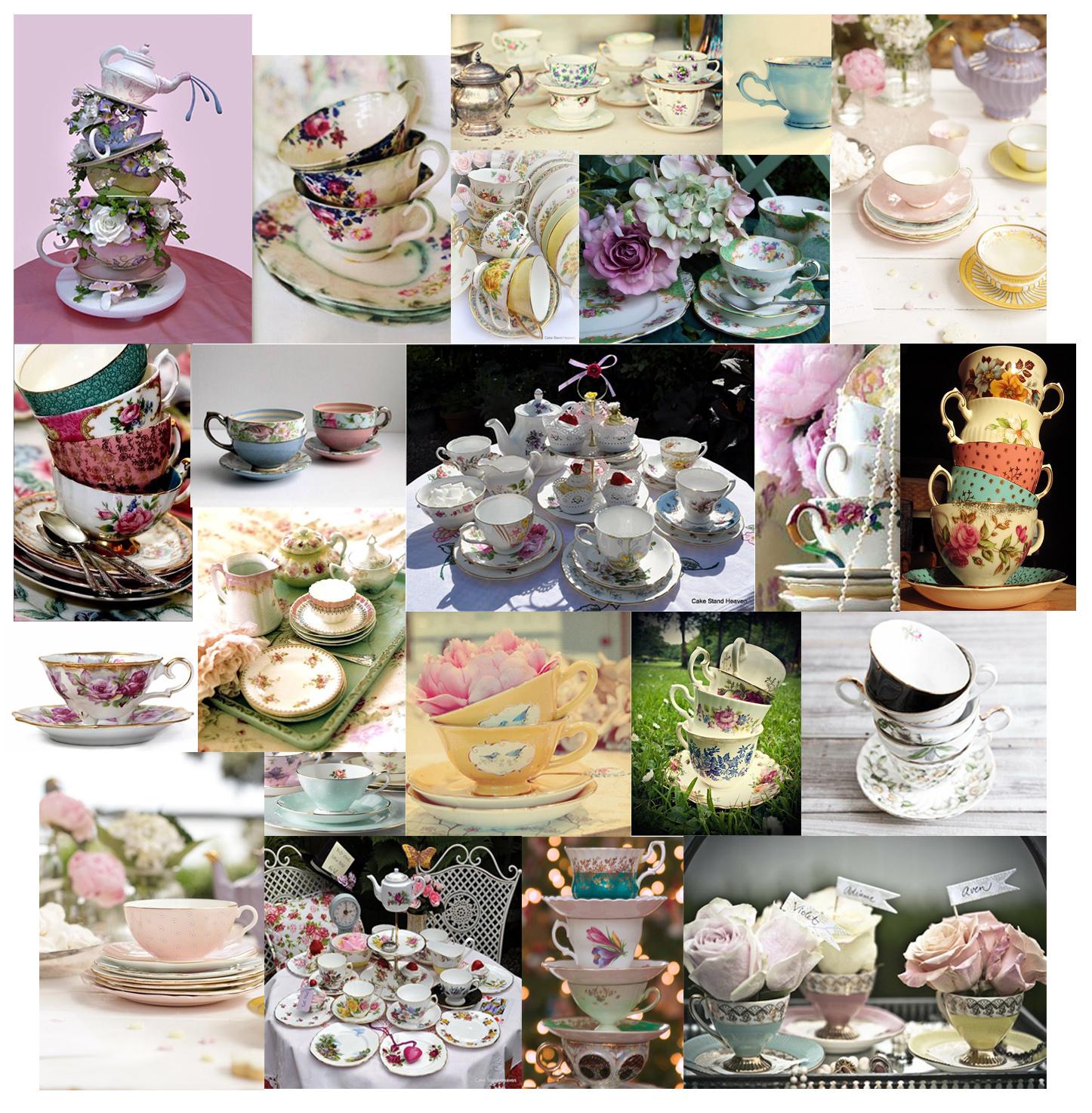 Vintage Tea Party: An Urban Village: VINTAGE TEA PARTY