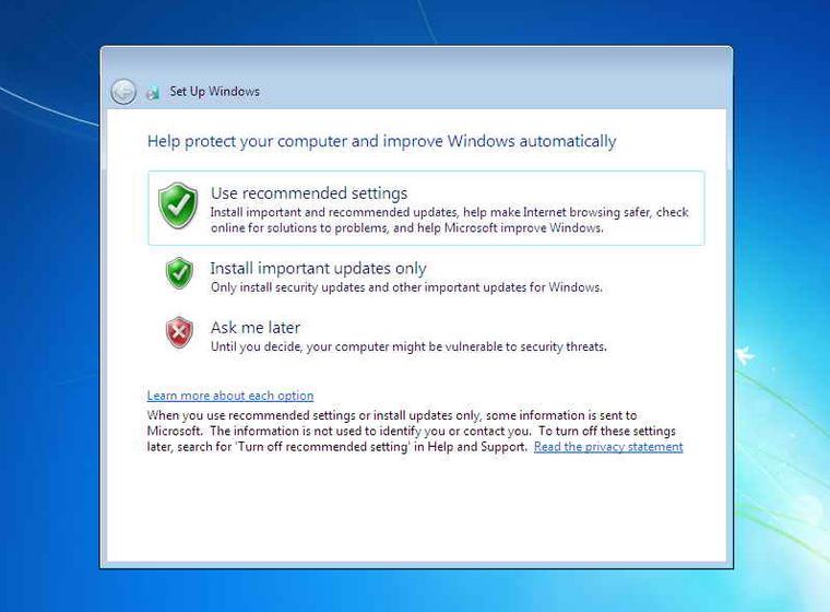 cara install windows 7 langkah ke 8