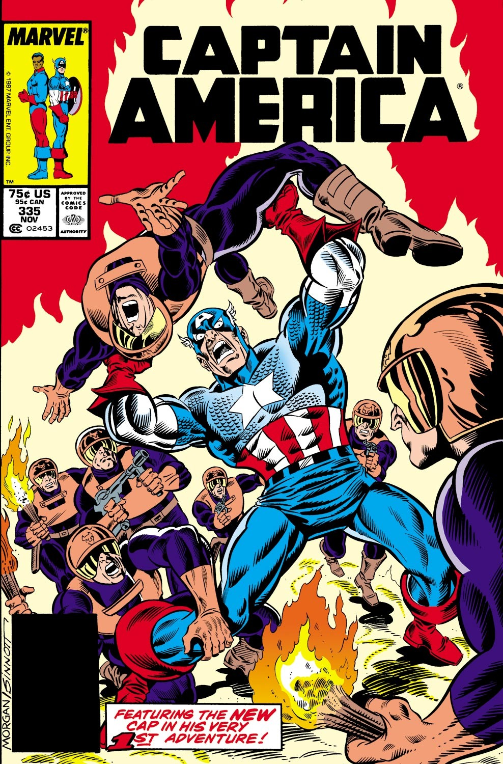 Captain America (1968) Issue #335 #264 - English 1
