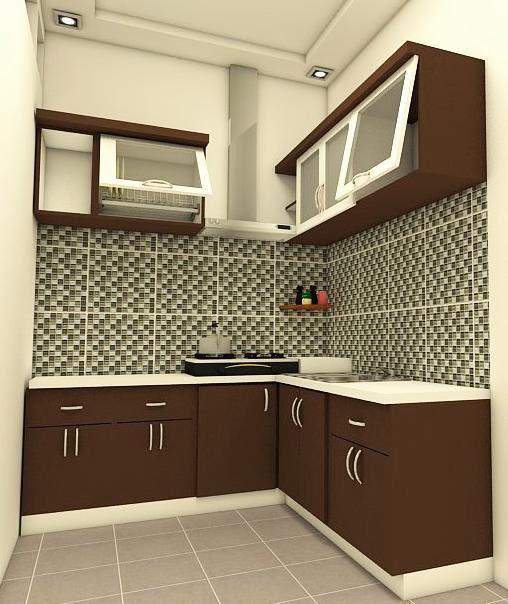 Kitchen Set Ruang Kecil: JASA EKSTERIOR INTERIOR DESAIN: Jasa Konsep Desain Kitchen