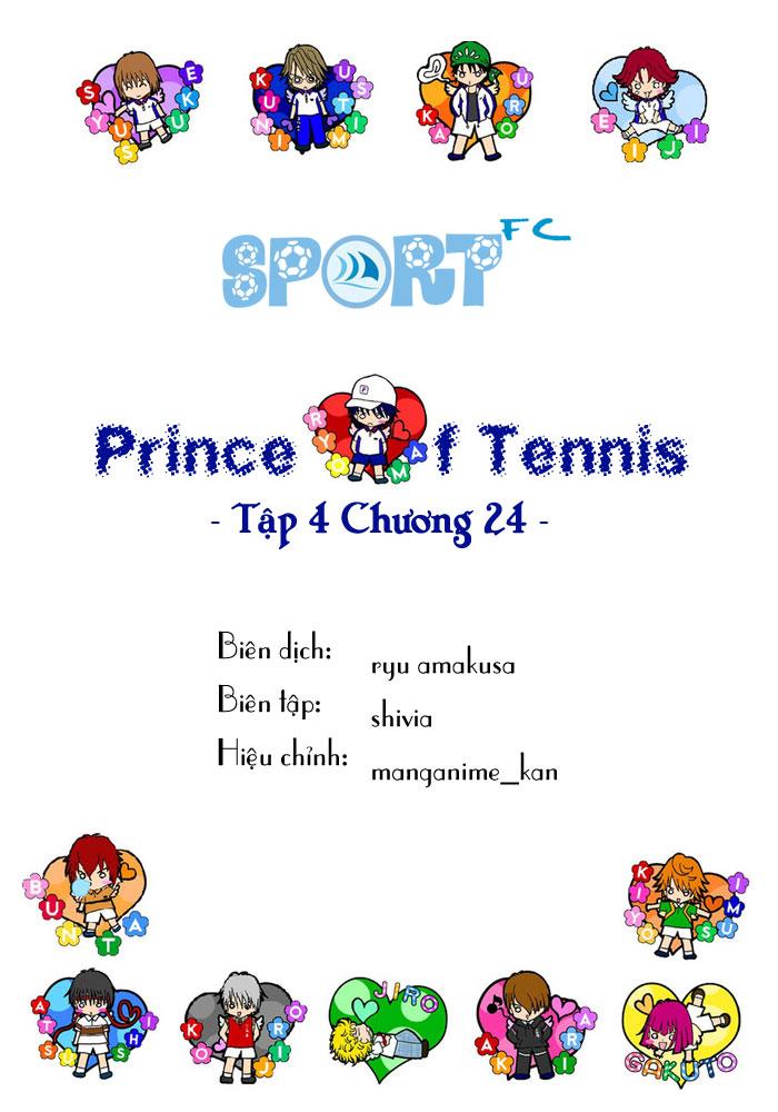 Prince of Tennis chap 24 Trang 1