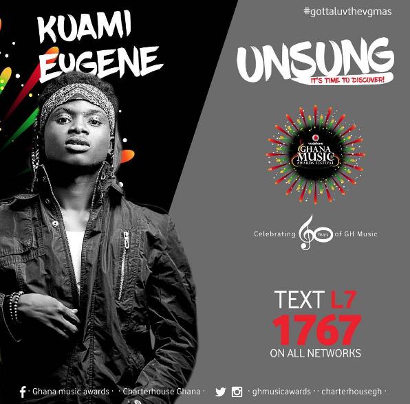 Kwami Eugene for VGMAs Unsung
